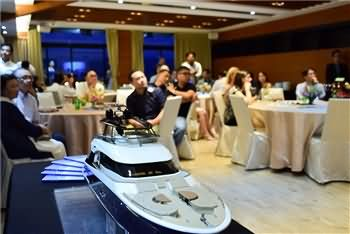 Monte Carlo Yachts Managing Director and sales support visited Taipei and enjoyed with yachting community