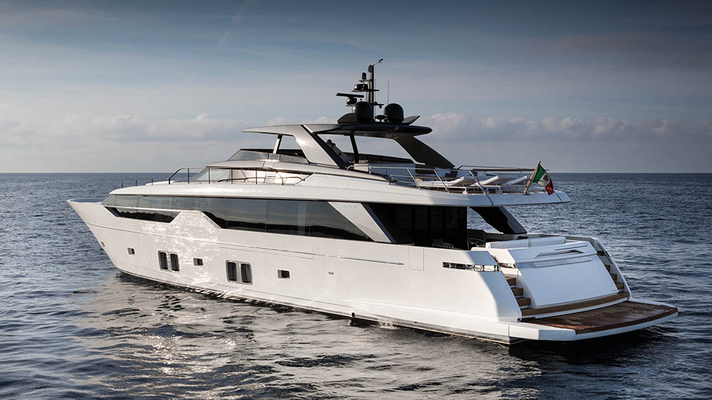 First Sanlorenzo SL102 Asymmetric Arrives in Singapore