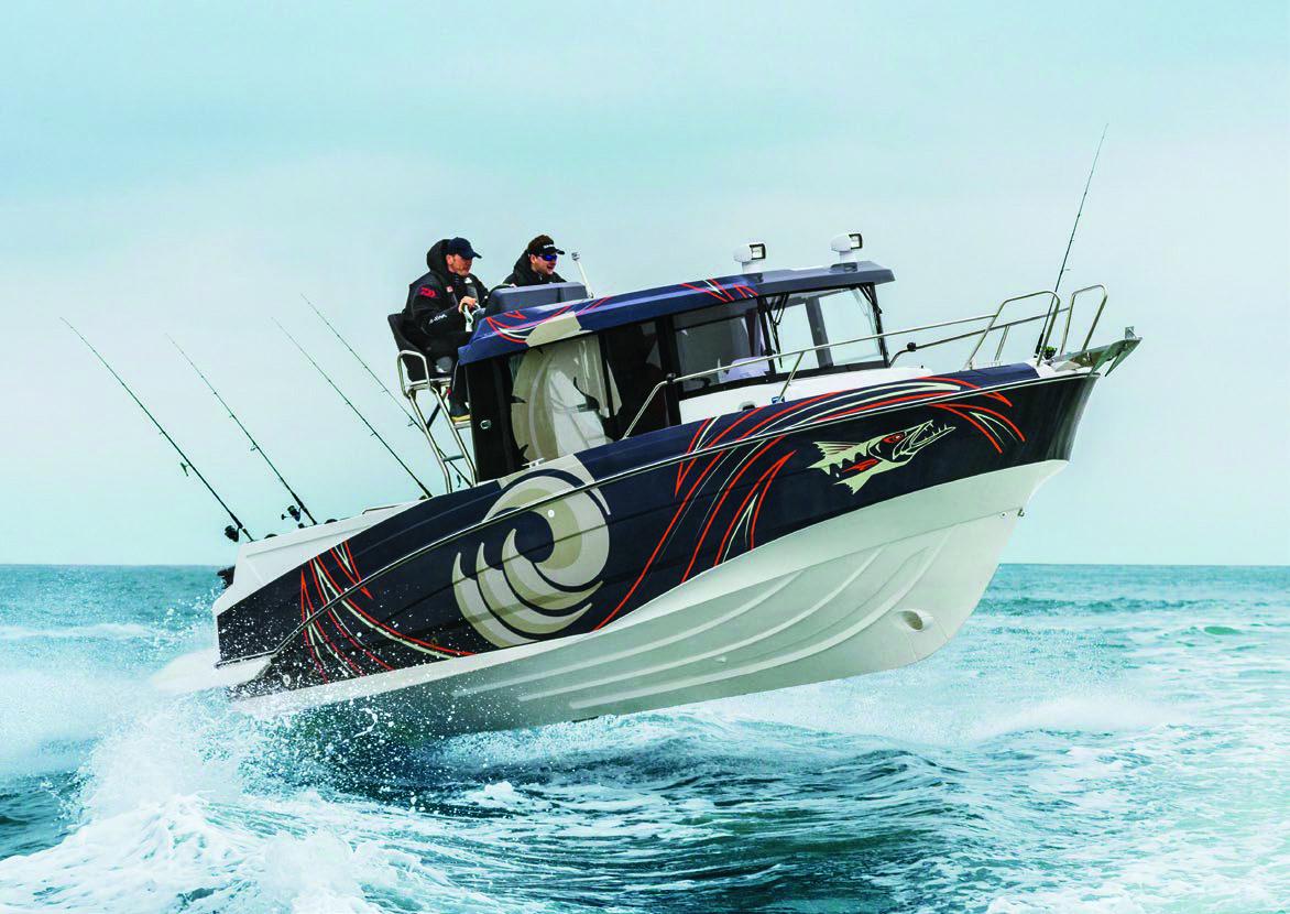 Simpson Marine - Barracuda 8