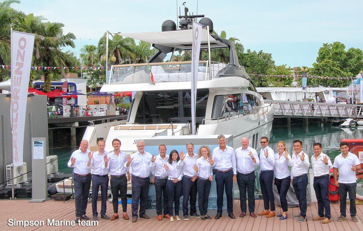 Simpson Marine team