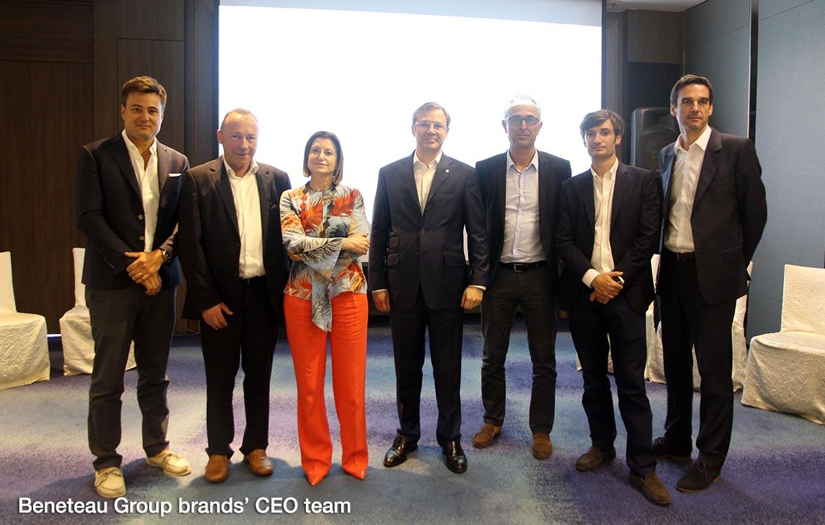 Beneteau Group brands' CEOs