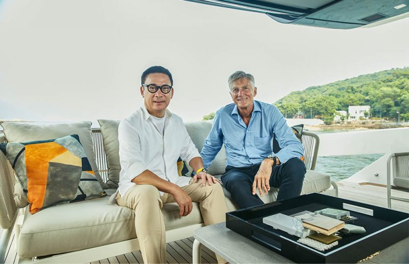 Sanlorenzo Asia and Steve Leung Expand Exclusive Partnership in Asia